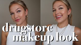 drugstore makeup look for back to school | maddie cidlik