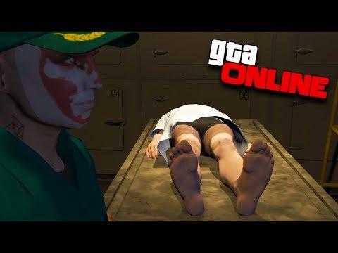 ОГРАБЛЕНИЕ ТРУПА В МОРГЕ! (ПОЛНАЯ ЖЕСТЬ) — GTA 5 ONLINE #126
