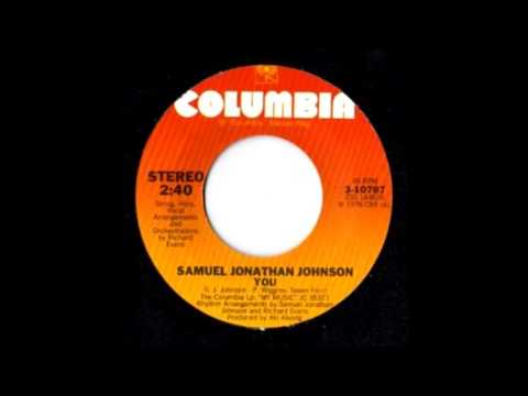 SAMUEL JONATHAN JOHNSON   YOU 12'' MIX