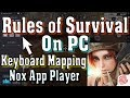 How to Play Rules of Survival on PC Controls Using Nox Android Emulator