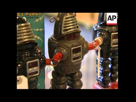 XMAS: Auction of rare and valuable robot and space toys in London