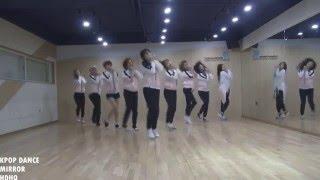 TWICE Cheer up Dance Practice Mirror Version With ZOOM