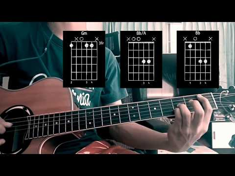 Radiohead - Paranoid Android Acoustic Guitar Cover + Chords And Tabs