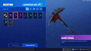Selling account with Recon Expert and Raider's Revenge for 70$ Fortnite Battle Royale