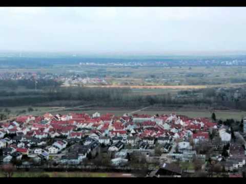 Bruchsal Teil 1 Aussicht vom Michaelsberg