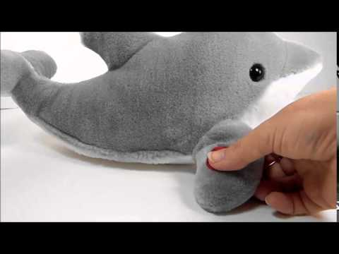Seaworld Dolphin Plush Toy
