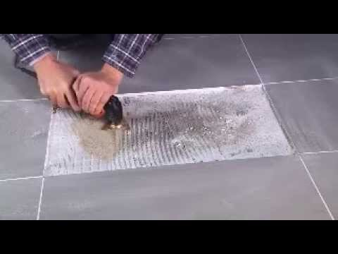 Removing Tile Adhesive With The Multimaster