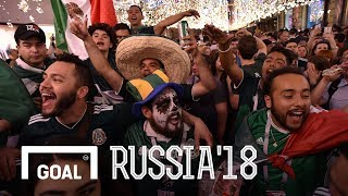 World Cup 2018: Lozano goal causes earthquake in Mexico City