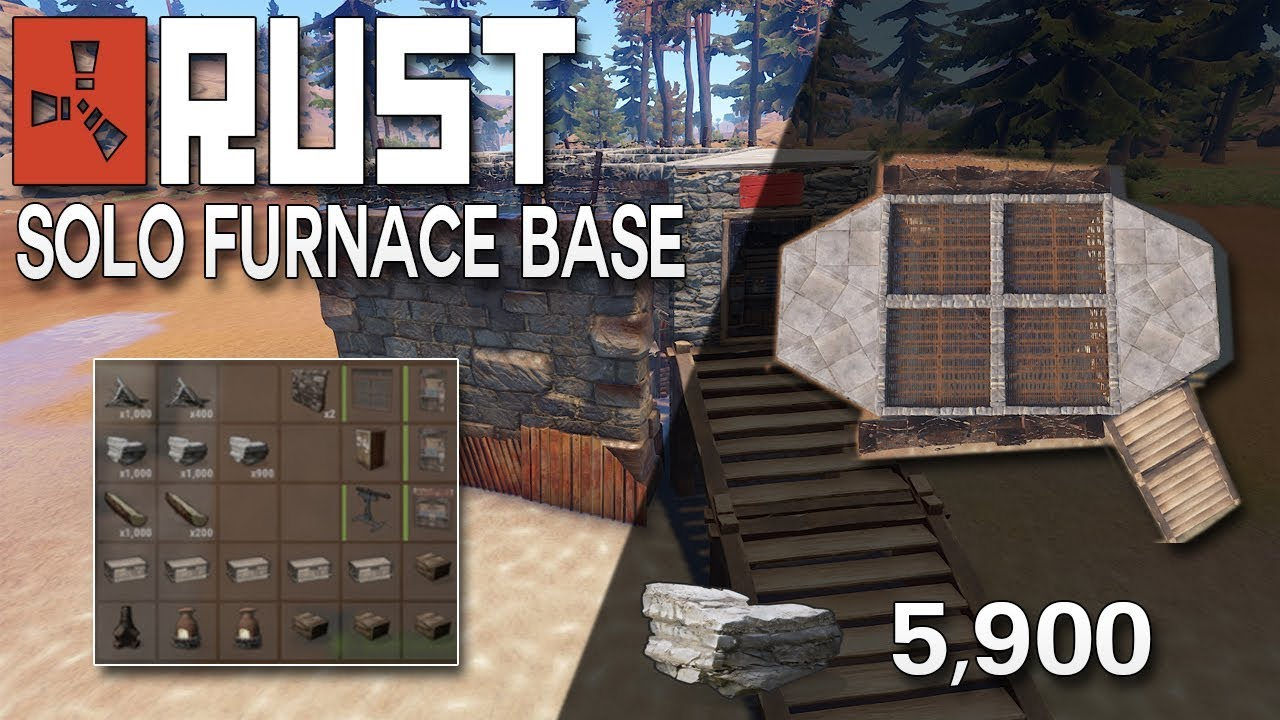 how to build a furnace rust