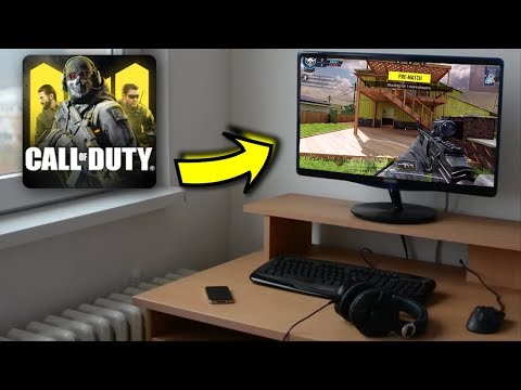 How To Play Call Of Duty Mobile On PC (Tutorial)!