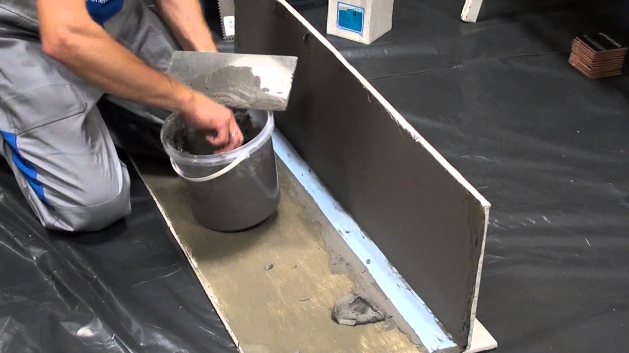 aplikacja izolacji przeciwwodnej na tarasy i azienki pci seccoral 2k omega lublin youtube. Black Bedroom Furniture Sets. Home Design Ideas
