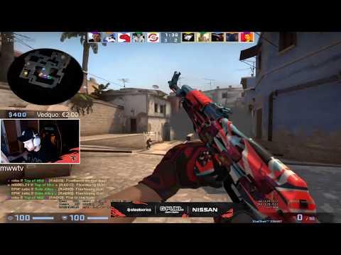 Niko Plays FPL Faceit Mirage - CSGO Twitch Clips