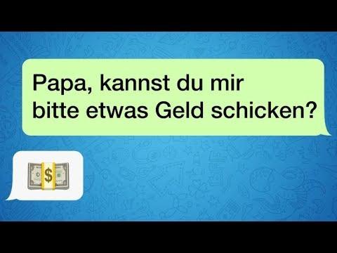 13 Nachrichten von Eltern, die Whatsapp für sich entdecken