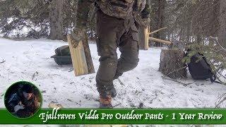 Fjallraven Vidda Pro Outdoor Pants - 1 Year Review