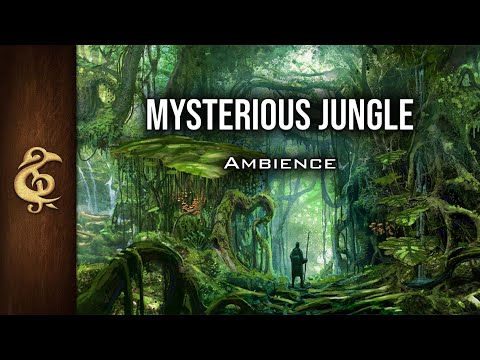 🎧 RPG / D&D Ambience - Mysterious Jungle | Immersive, Realistic, Animals