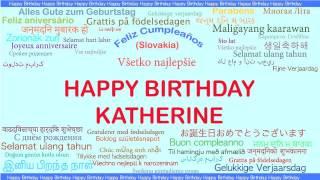 Katherine   Languages Idiomas - Happy Birthday