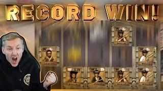 RECORD WIN!!  Dead Or Alive BIG WIN -  EPIC WIN from CasinoDaddy Live Stream