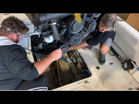 Mercury MerCruiser V8 total removal & installation (How To)
