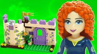 Animated Lego Merida's Highland Games 41051 Disney Princess Brave Flash Speed Build