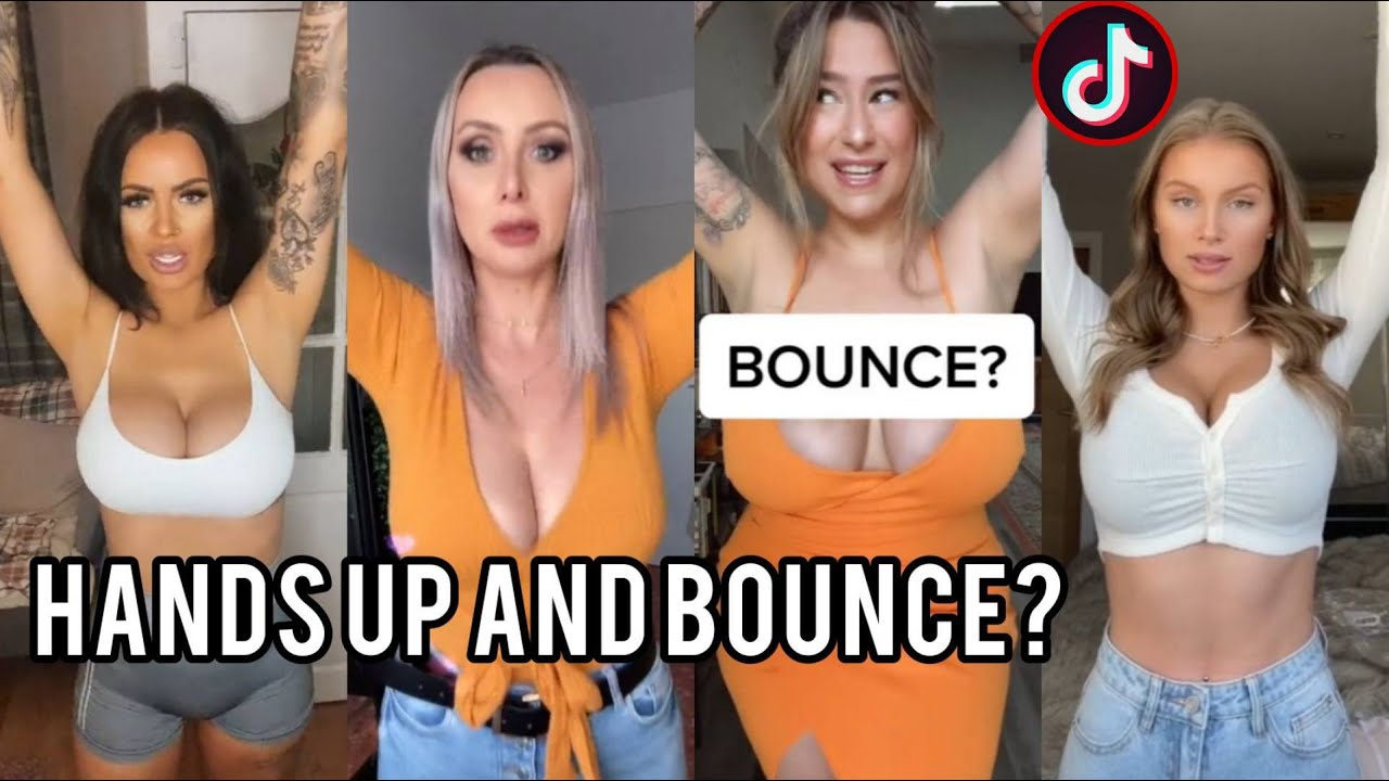 Download Put Your Hands Up and Bounce Challenge   Tik tok Sexy compilation   tiktok trending 2021 ❌🚫