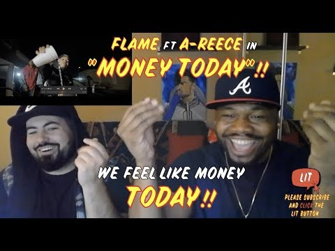 FLAME - MoneyToday (feat. A REECE) [Official Music Video] (Thatfire Reaction)