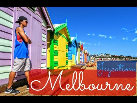 Melbourne City Guide | Brighton Bathing Boxes | Australia Travel Vlog Part 2