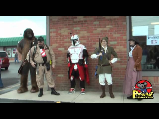 Free Comic Book Day 2011 at Packrat Comics