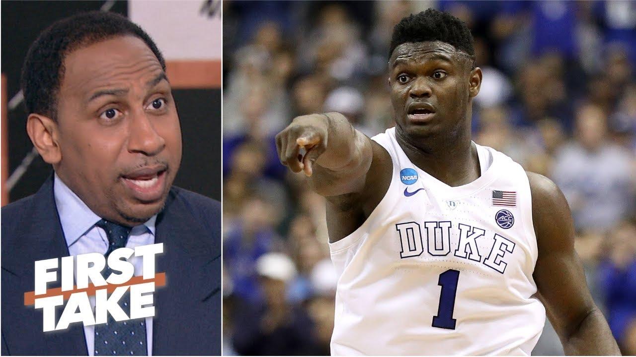'Zion didn't fail' in Duke's loss vs. Michigan State - Stephen A. | First Take