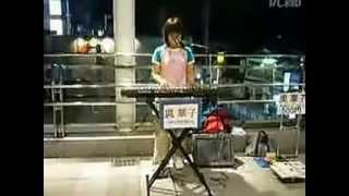 奧華子 街頭演唱 奧華子 「路上で、ガーネットを歌う」