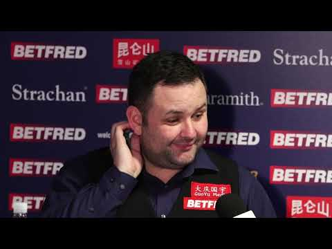 """I think I only had the lead because he was so bad yesterday"" - Stephen Maguire Press Conference"