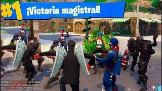 VICTORIA en *NUEVO* Modo de Juego Fortnite: Battle Royale