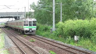 2021.07.23 - 721系快速列車3891M「エアポート149号」(恵み野)