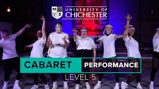 Cabaret Show Time   University of Chichester Conservatoire