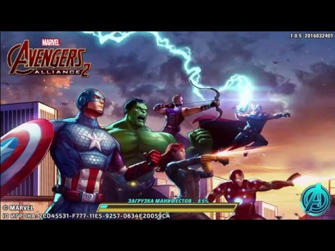Мстители 2 (Marvel Avengers Alliance 2) - Чуток залагало в конце