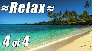 RELAXATION VIDEO #4. HD HAWAII Best Beaches Wave Sounds Ocean videos relax travel 1080p