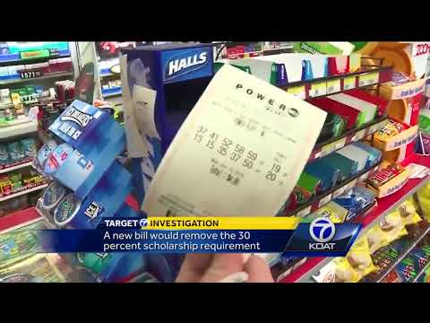 Proposed bill changes lottery scholarship requirement