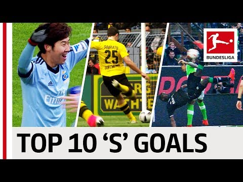 "Sahin, Son & Sokratis - Top 10 Goals - Players With ""S"" Part II"