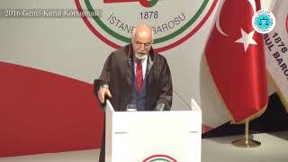 Av. Mehmet Durakoğlu - 2016 Genel Kurul Konuşması'ndan