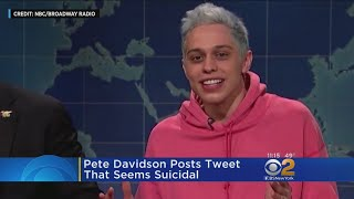 Pete Davidson Sparks Frenzy After Cryptic Post