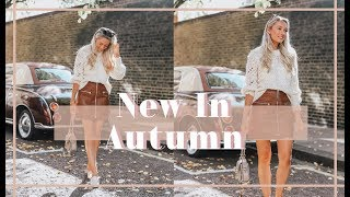WHAT'S NEW IN MY WARDROBE // October 2018 //
