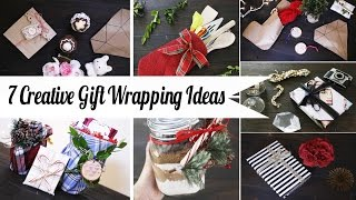 7 Creative Gift Wrapping Ideas - Super Easy | ANNEORSHINE Thumbnail