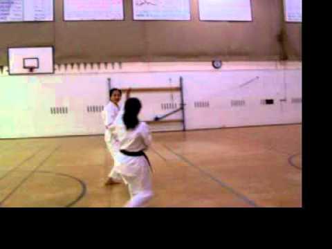 Practice Kumite @ Kewdale Islamic School, Perth WA 2003