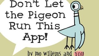 Disney's Don't Let the Pigeon Run This App! Part 1 - best app demos for kids - Lily