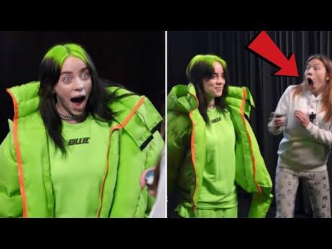 Celebrities Surprising Their Fans (Billie Eilish, Justin Bieber)