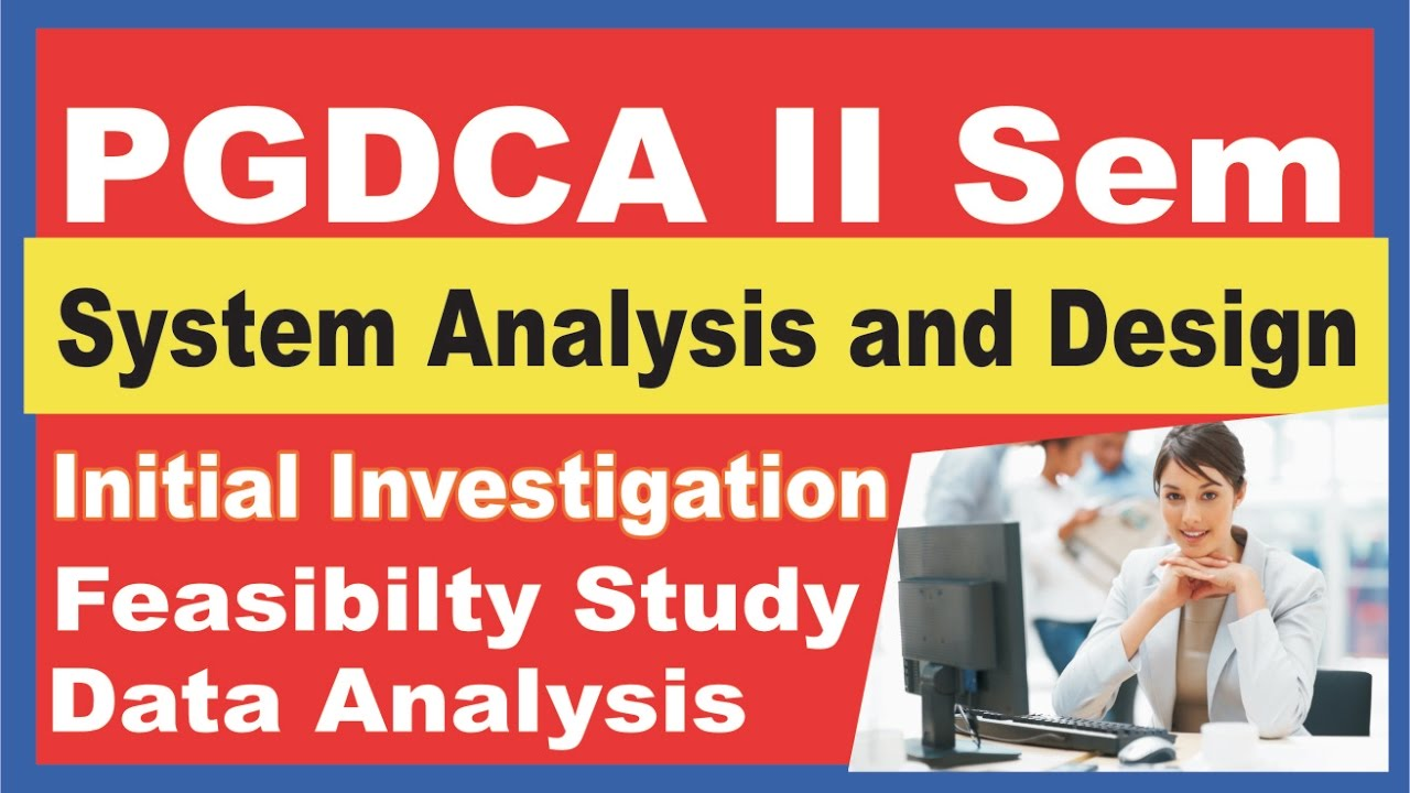 system analysis and design notes for pgdca in hindi