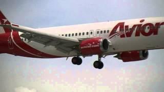 AVIOR AIRLINES. BOEING. 737-400. MIAMI.