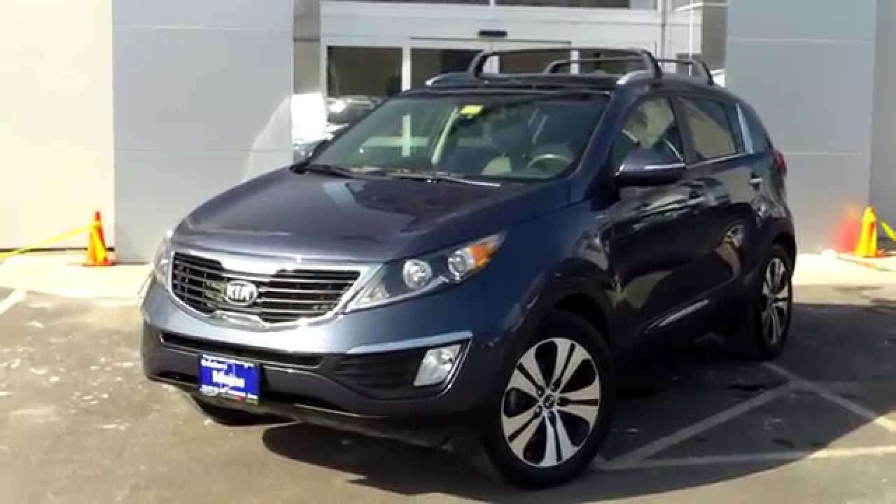 Best Price Used 2013 Kia Sportage EX AWD Saco Maine Portland Me Bill Dodge  Prime Rowe