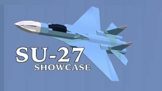 SU-27 Schaufenster || Flugzeug Crazy Roblox