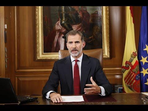 Mensaje de S.M. el Rey (Sucesos Cataluña). Octubre 2017