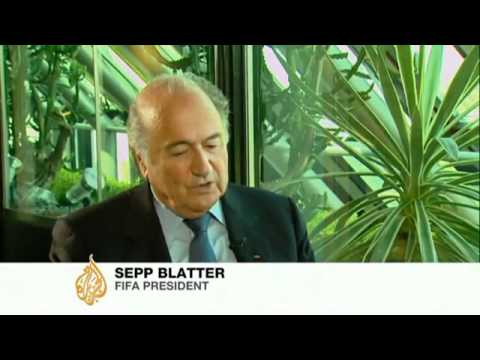 Exclusive interview with FIFA president Sepp Blatter